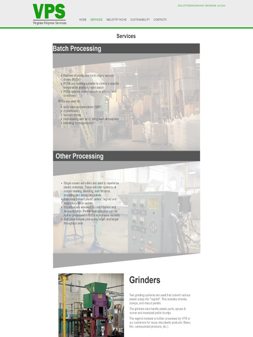 page image of Virginia Polymer Services Site