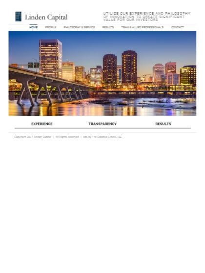 Linden Capital Website